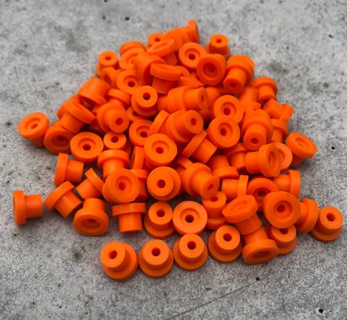 Silicone Grommets - Orange
