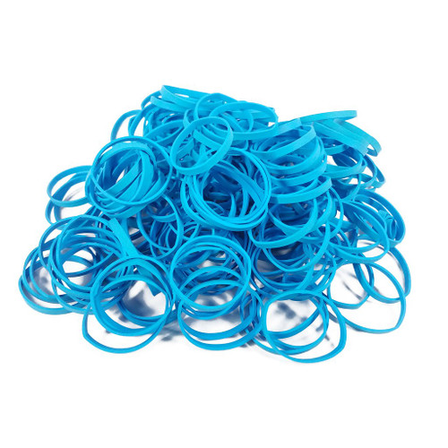 Premium Rubber Bands /Thick Style-Cyan