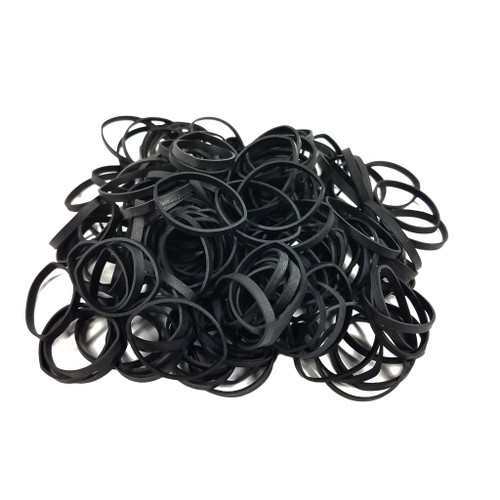 Premium Rubber Bands / Thick Style-Black