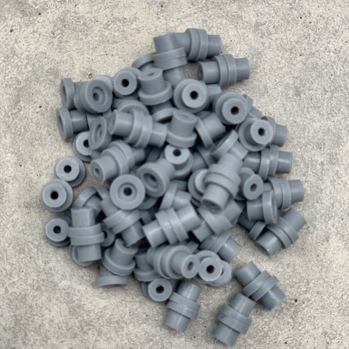 Silicone Grommets - Grey
