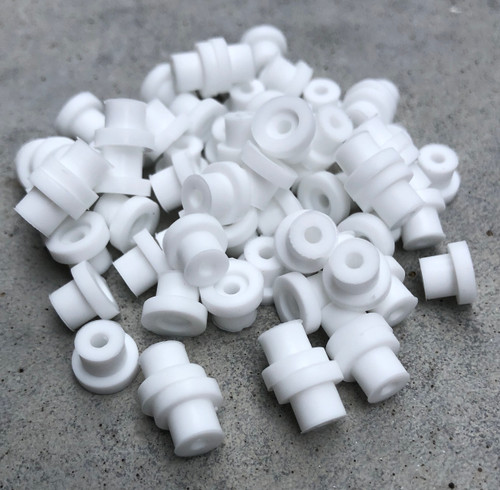 Silicone Grommets - White