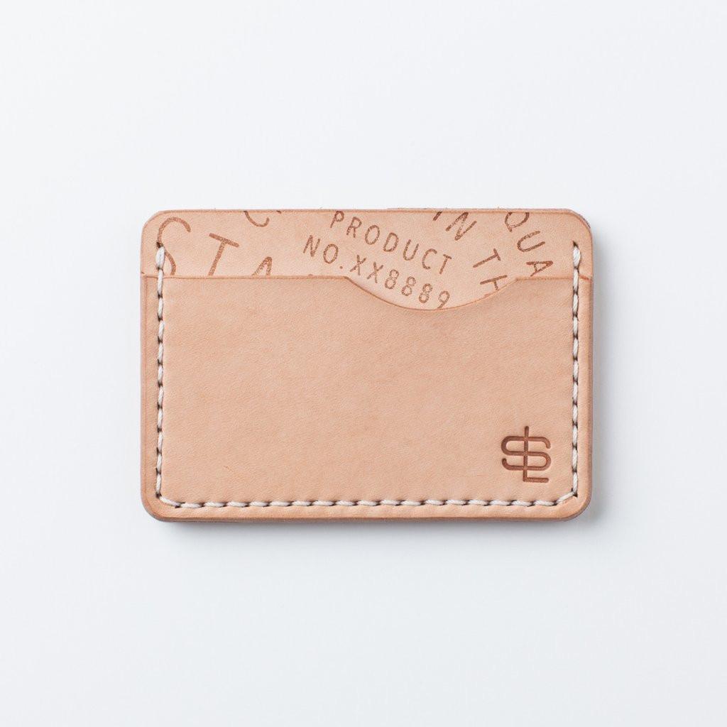 Slim Wallet - Natural