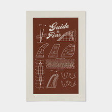 """""""Guide to Fins"""" Poster"""