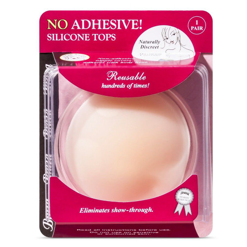 Braza No Adhesive Silicone Top Nipple Covers (1 pair)