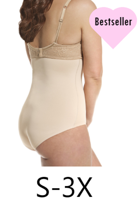 Hooked Up Shapewear 1073 High-Waist Brief
