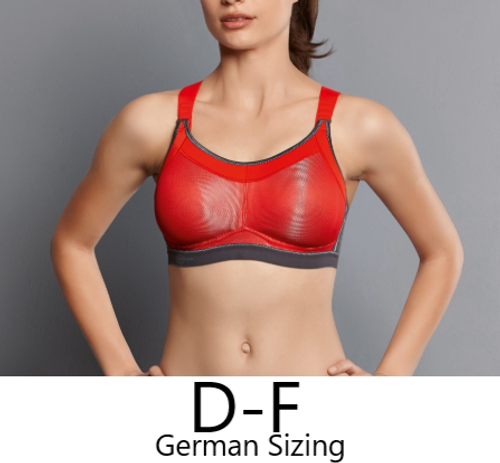 Anita 5539 Momentum Pro Sports Bra Red