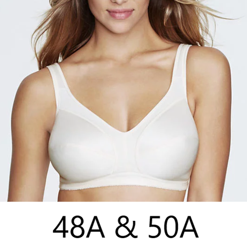 Dominique 5316 Isabelle Everyday Wire-Free Cotton-Lined Bra Champagne