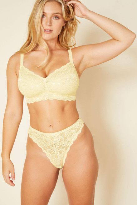 Cosabella NEVER1310 Never Say Never Curvy Sweetie Soft Bra Mimosa