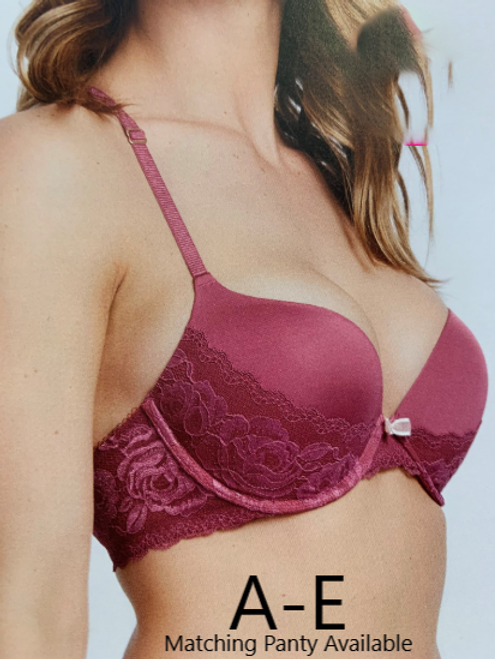 Montelle 9418 Moonlight & Roses Allure Bra Mesa Rose