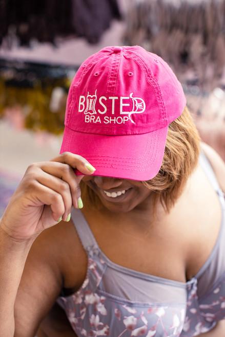 Busted Ball Cap Dark Pink