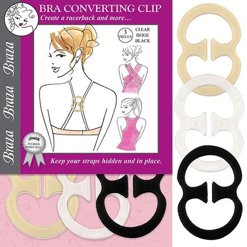 Braza Bra Converter Clip (3 Pieces)