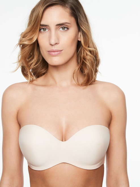 Chantelle 1116 Absolute Invisible Smooth Strapless Bra Nude Blush