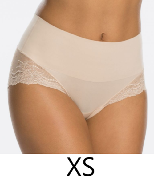 SPANX SP0515 Undie-tectable® Lace Hi-Hipster Panty Soft Nude