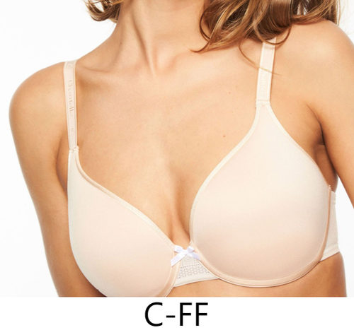 Chantelle 1951 C Idéal Back Smoothing Bra Nude Blush