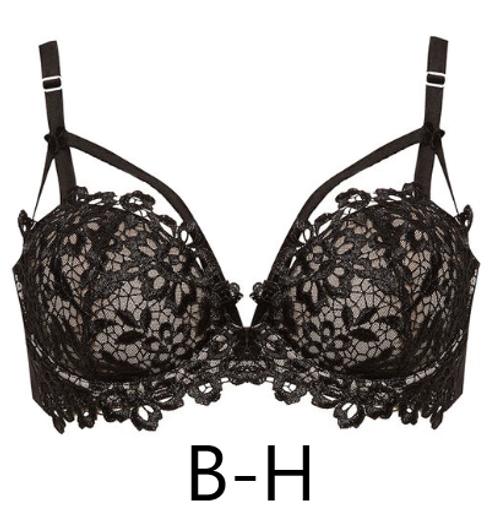 Dita Von Teese D58457 Dahlia Balconette Bra Black/Nude