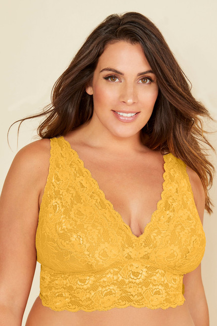 Cosabella NEVER1387P Never Say Never Extended Plungie Longline Bralette Sole