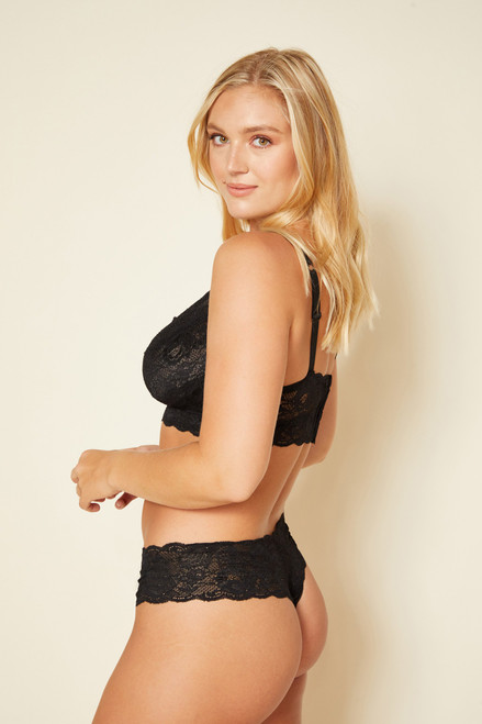 Cosabella NEVER0343 Never Say Never Comfie Cutie Thong Black