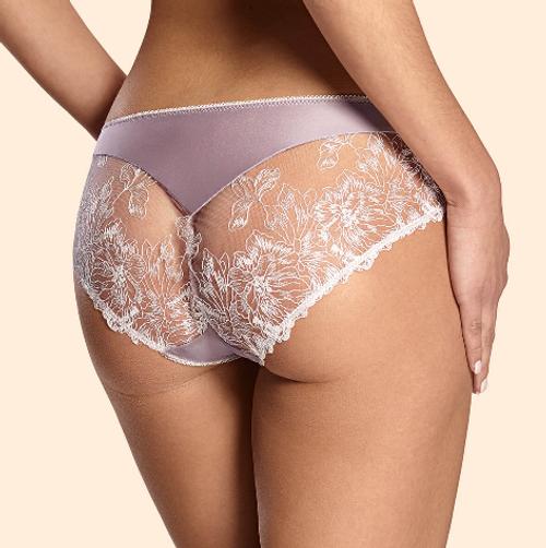 Ajour T86 Bronte Lace Back Panty Light Lilac