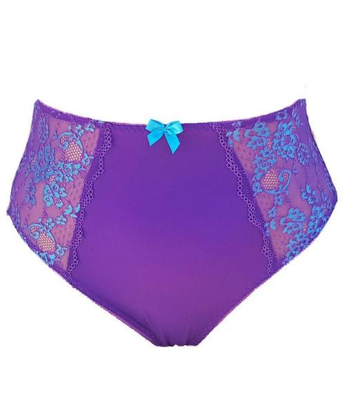 Lady Emprezz Frenchie Brief Purple with Blue