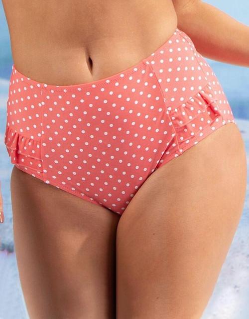 Pour Moi 3905 Hot Spots Control Swim Brief Coral