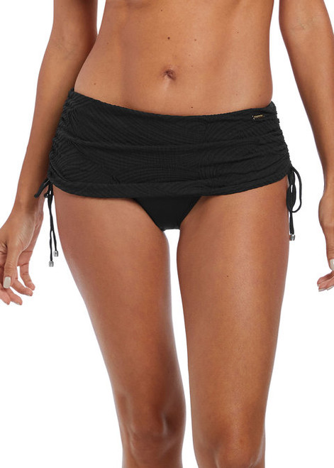 Fantasie 6359 Ottowa Adjustable Skirted Swim Bottom Black