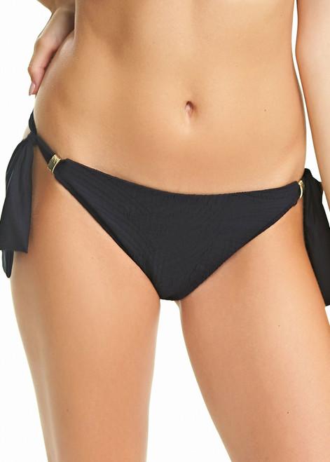 Fantasie 6357 Ottowa Classic Tie Side Brief Swim Bottom Black