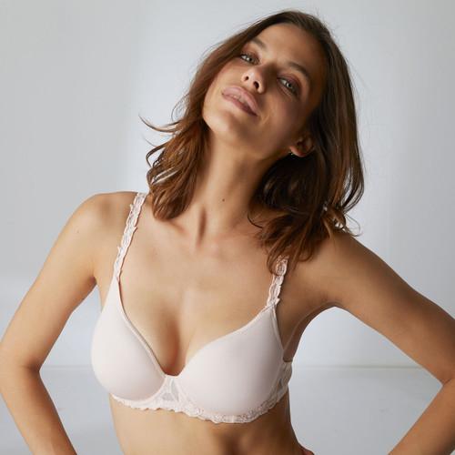 Simone Perele 131316 Andora 3D Convertible Plunge Bra Blush