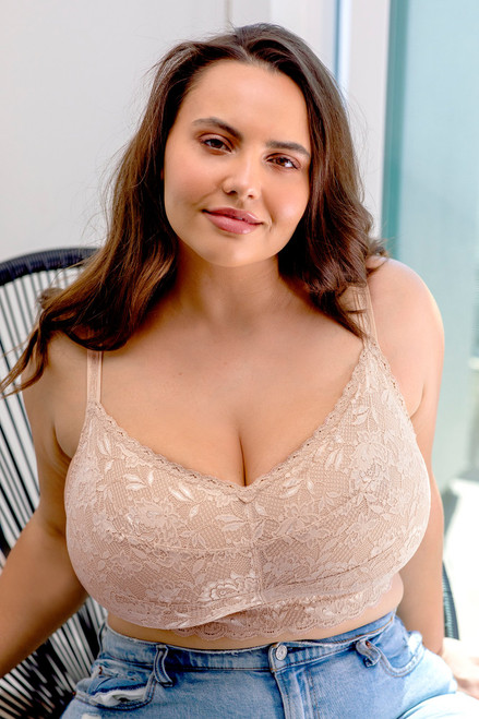 Cosabella 1321 Never Say Never Ultra Curvy Sweetie Bralette Sette