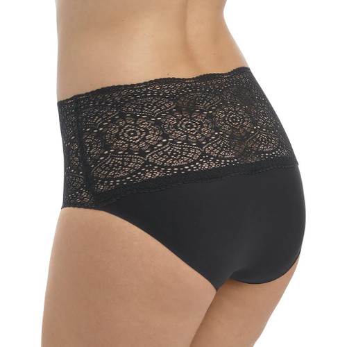 Fantasie 2330 Lace Ease One Size Invisible Stretch Full Brief Black