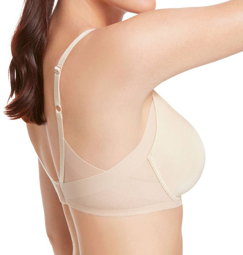 Wacoal 853281 Ultimate Side Smoother Contour Bra Sand
