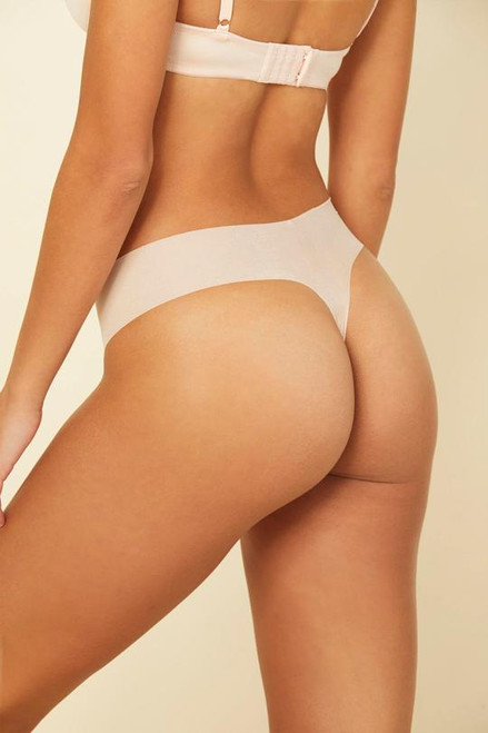 Cosabella 0321 Aire Low Rise Thong Nude Rose