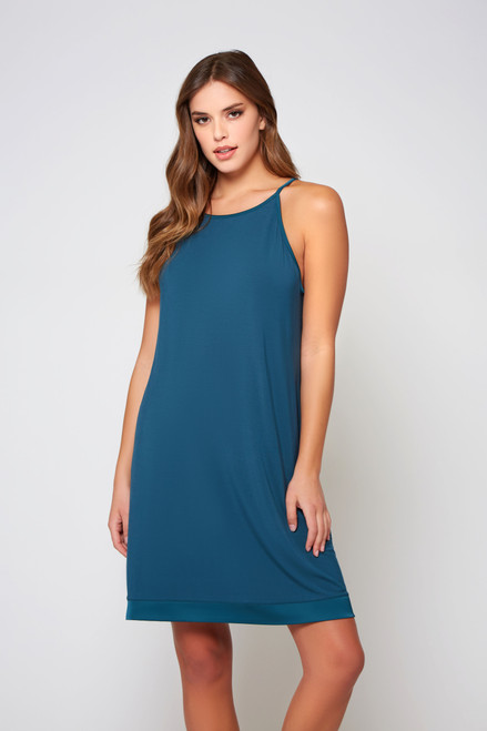 iCollection 78172 Malachite Chemise Teal