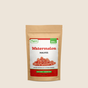 Vegan Watermelon Halves - 200mg