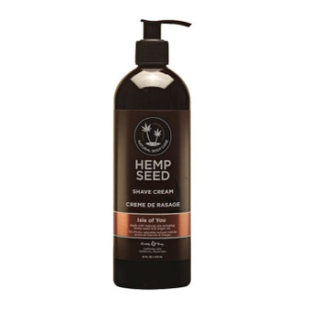 Hemp Seed Shaving Cream 16 oz