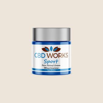 Sport Cream - 500mg