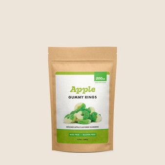 Gummy Rings - Apple - 200mg