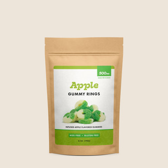 Gummy Rings - Apple - 500mg