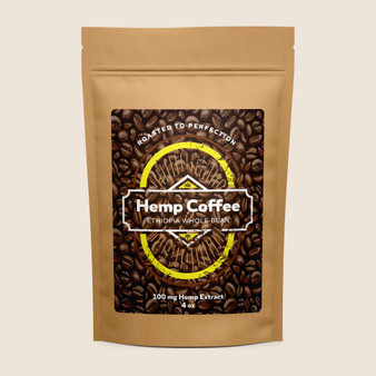 Hemp Coffee - Ethiopia - 100mg