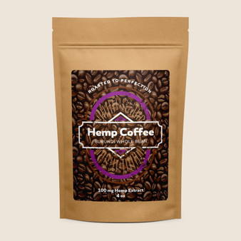 Hemp Coffee - Burundi - 100mg