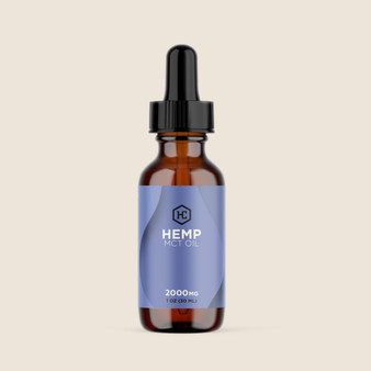 Hemp MCT Oil - 2000mg