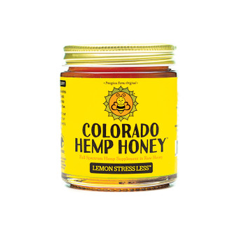 Hemp Honey - Lemon Stress Less - 6oz
