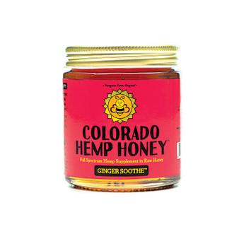 Hemp Honey - Ginger Soothe - 6oz