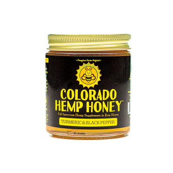 Hemp Honey - Turmeric & Black Pepper - 6oz