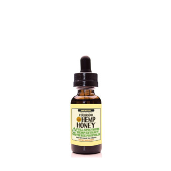 Hemp Bee Propolis Tinctures - Raw Relief - 17mg
