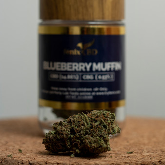 Hemp Flower - Blueberry Muffin