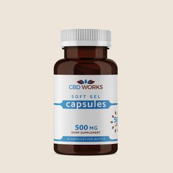 Capsules - 500mg  50mg per Capsule