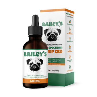 Bailey's Full Spectrum Hemp CBD - 600mg