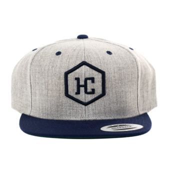 Hat - Heather/Navy