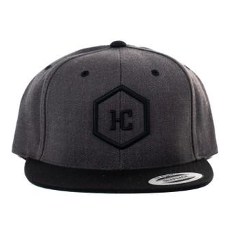 Hat - Charcoal/Black