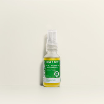 Hemp & Olive™ - Pure CBD Oil 150mg 1fl oz - Lemon